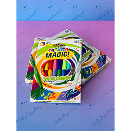 PLUMONES CAMBIA COLOR MAGIC! 10 COLORES