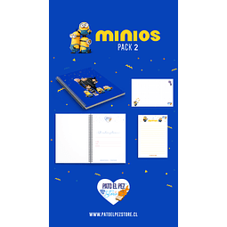 PACK 2 MINIONS