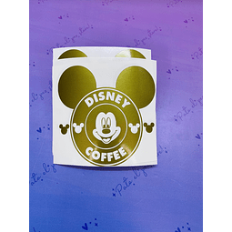 VINILO MICKEY COFFE