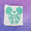 VINILO STARBUCKS  MOUSE