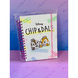 CUADERNO A5 CHIP AND DALE