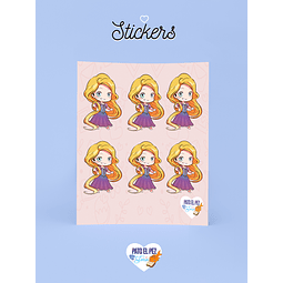 STICKER RAPUNZEL