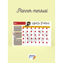 PLANNER HARRY POTTER