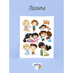 STICKER PAREJAS DISNEY II