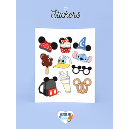 STICKER DISNEY ELEMENTOS