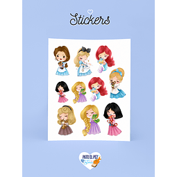 STICKER PRINCESITAS
