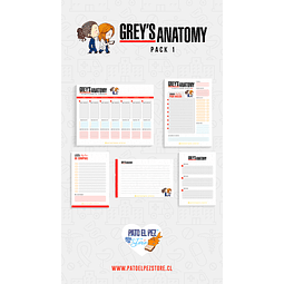 PACK 1 GREYS ANATOMY
