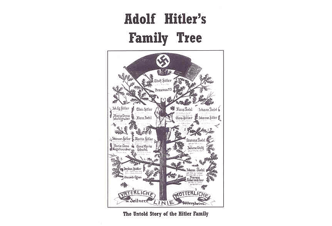Adolf Hitler's Family Tree by Alfred Konder