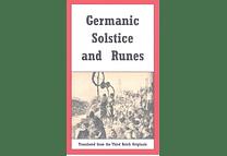 Germanic Solstice and Runes by Hans Riegelmann