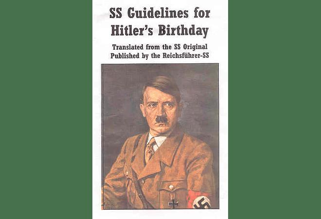SS Guidelines for Hitler's Birthday