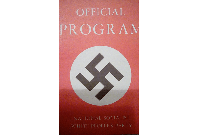 Official Program of the NSWPP by Matt Koehl