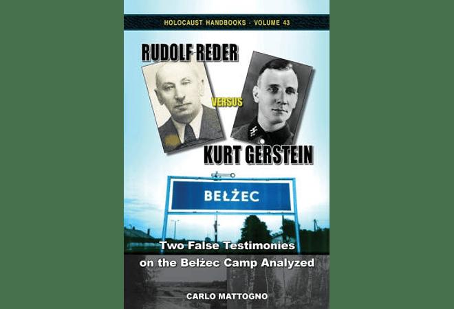 Rudolf Reder Versus Kurt Gerstein by Carlo Mattogno