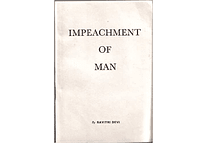 The Impeachment of Man by Savitri Devi (First Pressing)
