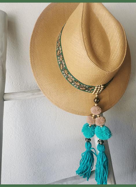 sombrero esmeralda