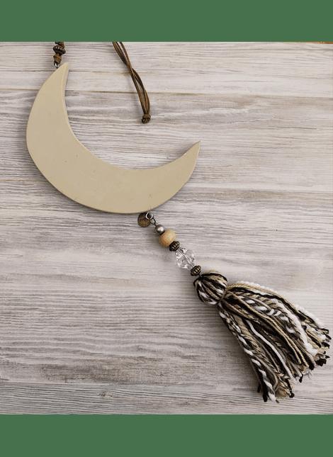 colgante luna madera country grande beige
