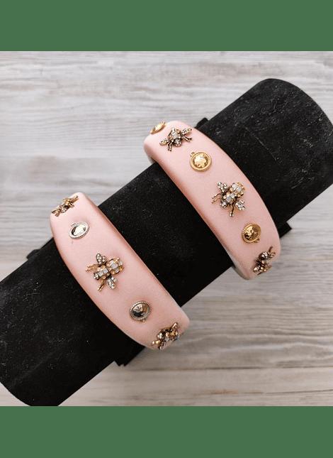 cintillo royal bug rosa