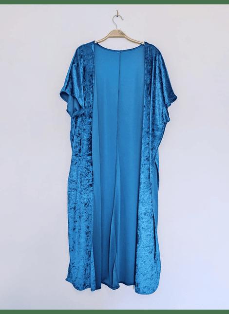 kimonos plush petroleo