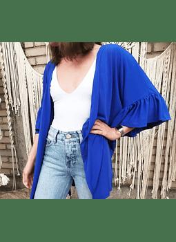kimono volados azul