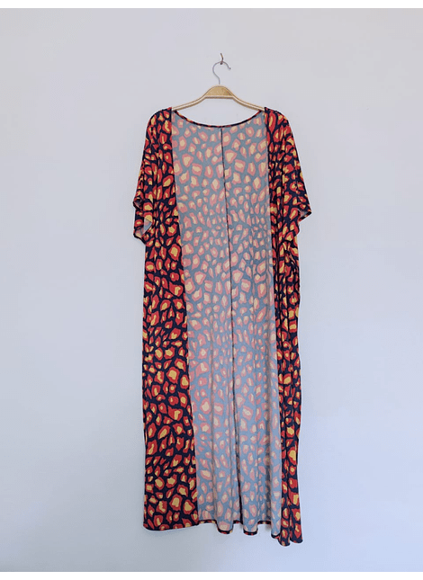 kimonos print red