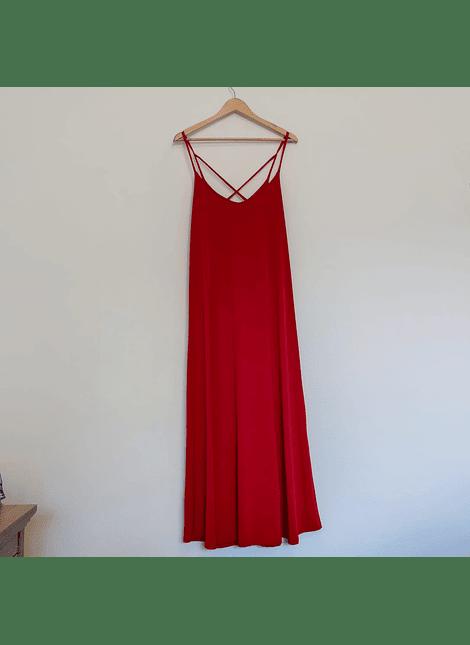 vestido UMMA rojo lycra