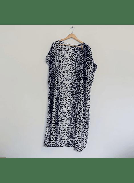kimonos print azul