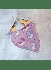 Bandana strechy unicornio L