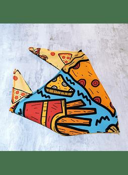 Bandana strechy pizza s