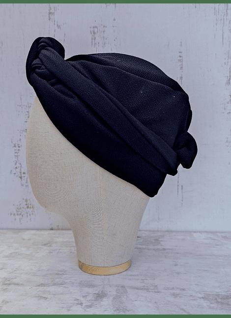 Turbante tuca negro