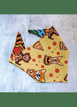 Bandana strechy pizza M