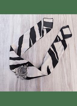 Bandana de la india zebra