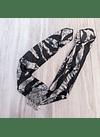 Bandana de la india zebra grey