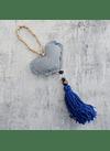 Mini manillero corazon culla blue