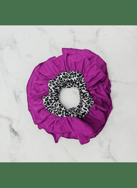 moños salma violeta