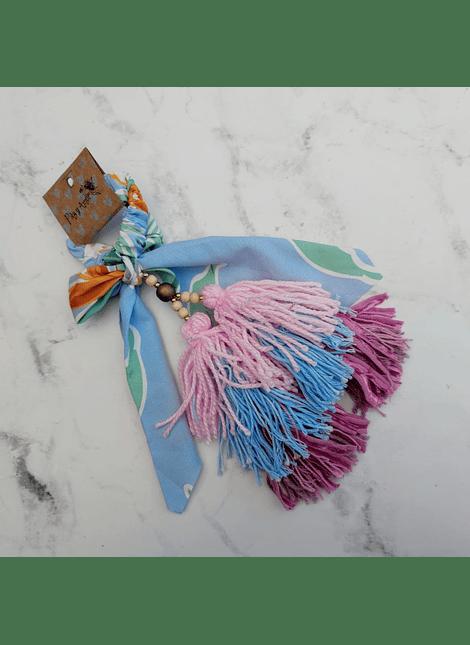 Moño pompon cotton