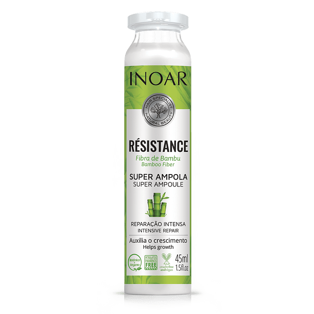 Súper Ampolla Resistance Bambú
