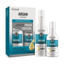 Dúo Argan Infusión Anti-caspa