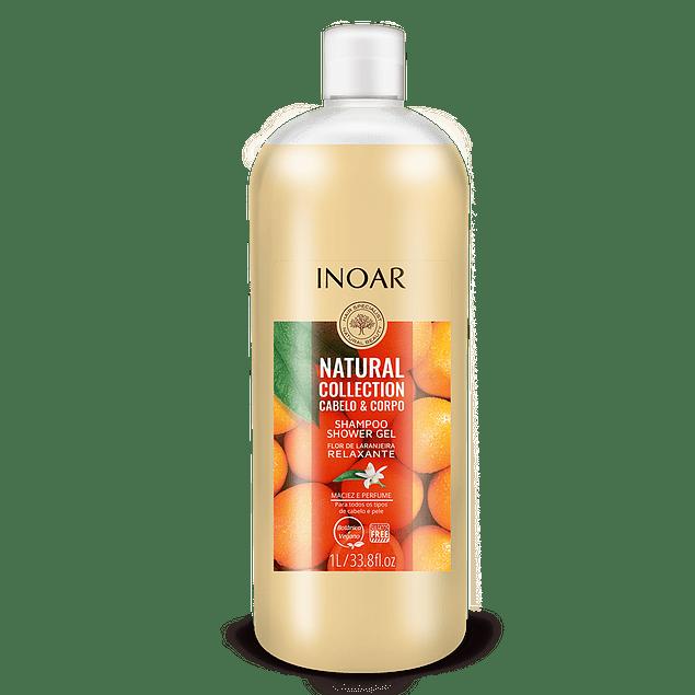 Shampoo + Shower Gel 2 en 1. Natural Collection
