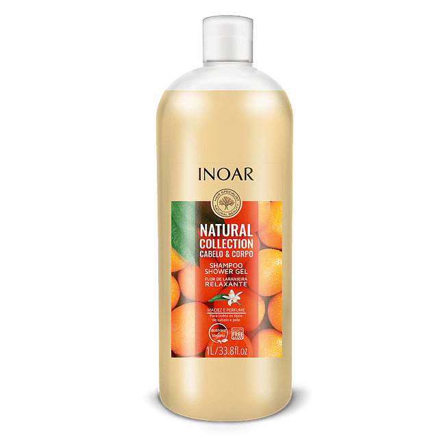 Shampoo + Shower Gel 2 en 1. Natural Collection