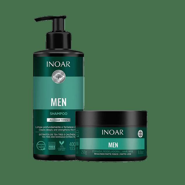 Pack Men Shampoo y Pomada