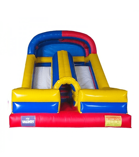JUEGO INFLABLE TOBOGAN DOBLE TUNEL