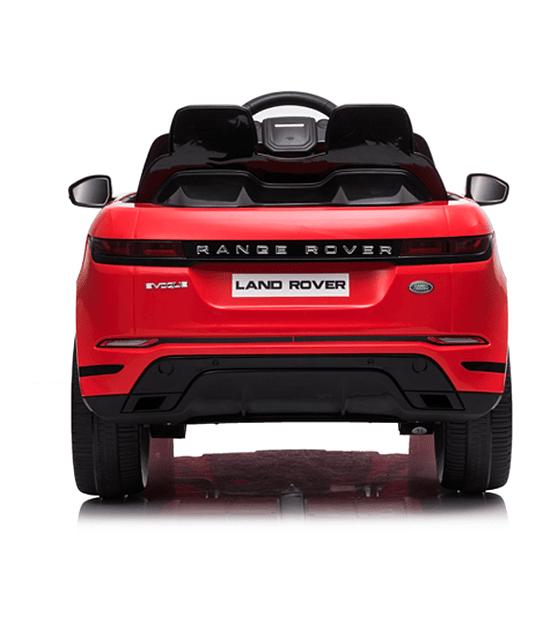 Auto Electrico 12v Licencia Range Rover ROJO