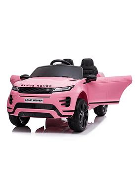 Auto Electrico 12v Licencia Range Rover ROSA