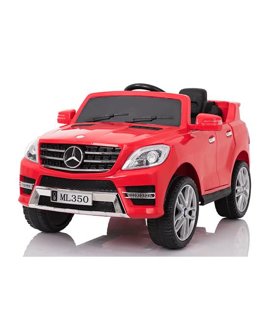 Auto Electrico 12v Licencia Mercedes Benz ML350 ROJO