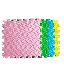 GOMA EVA Variedad de colores (4 palmetas de 50x50x2,5cm)
