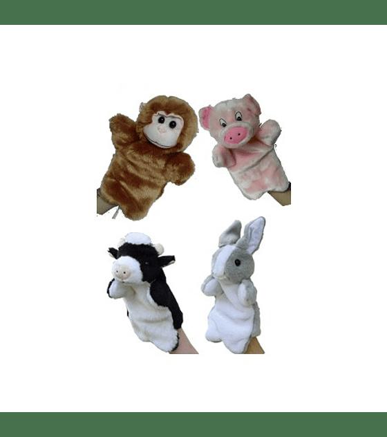 SET DE TÍTERES ANIMALES DE MANO