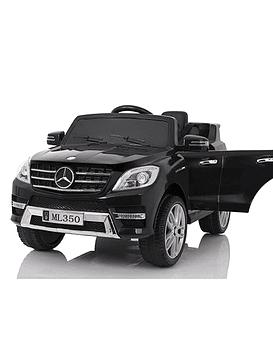 Auto Electrico 12v Licencia Mercedes Benz ML350 NEGRO
