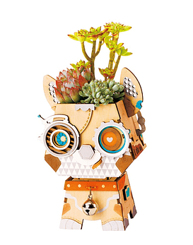 Maceta de madera (Pot Puppy)