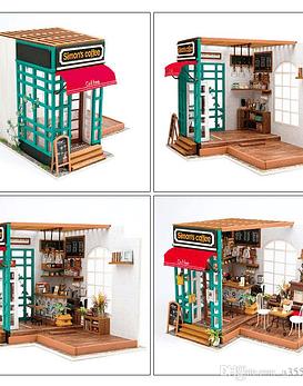 Café de Simon's (diy miniature house)