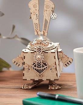Caja de música Robotime (Bunny)