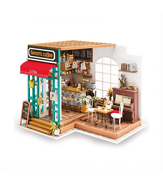Café de Simon's (diy miniature house)